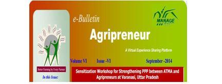 Agripreneur E-Bulletin for the month of November – 2014