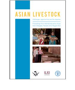 Asian Livestock Challenges, opportunities and the response