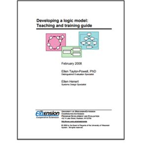 Developing a logic model Teaching and training guide