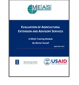 Evaluation of Agricultural Extension and Advisory Services
