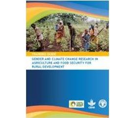 Gender and Climate Change Research in Agriculture and Food Security for Rural Development,