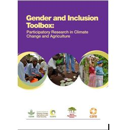 Gender and Inclusion Toolbox Participatory Research in Climate Change and Agriculture