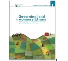 Governing land for women and men A technical guide to support the achievement of responsible gender-equitable governance of land tenure
