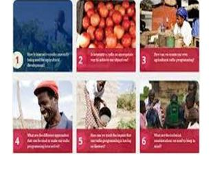 Interactive Radio for Agricultural Development Projects A Toolkit for Practitioners
