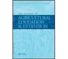 JAEE Special Issue Gender Inequality and Agricultural Extension