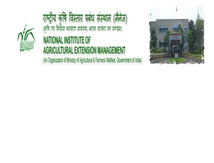 National Institute of Agricultural Extension Management (MANAGE), Hyderabad, India