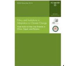 Policy & Institutions in Adaptation to Climate Change