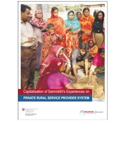 Private rural service provision the experience of Samriddhi in Bangladesh