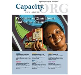 Producer organisations and value chains