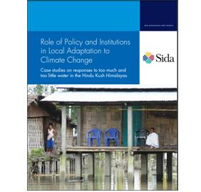 Role of Policy & Institutions in Local Adaptation to Climate Change