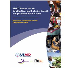 Smallholders and Inclusive Growth in Agricultural Value Chains