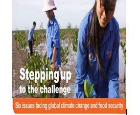 Stepping up to the Challenge-Six Issues facing global climate change and food security CCAFS, 2014