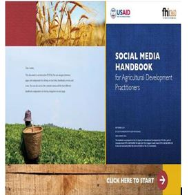 The Social Media Handbook for Agricultural Development Practitioners