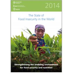 The State of Food Insecurity in the World Strengthening the enabling environment for food security and nutrition FAO, 2014