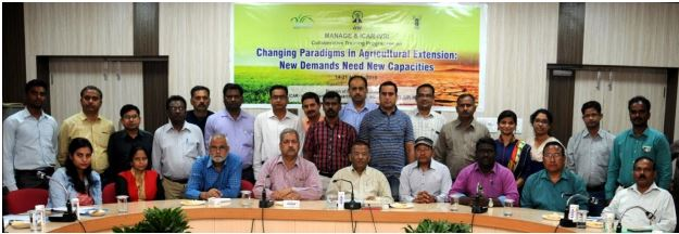 MANAGE and ICAR – IVRI Collaborative Training Programme on Changing Paradigms in Agricultural Extension