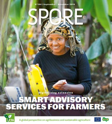 ICT Digitalising extension SMART ADVISORY SERVICES FOR FARMERS publlication