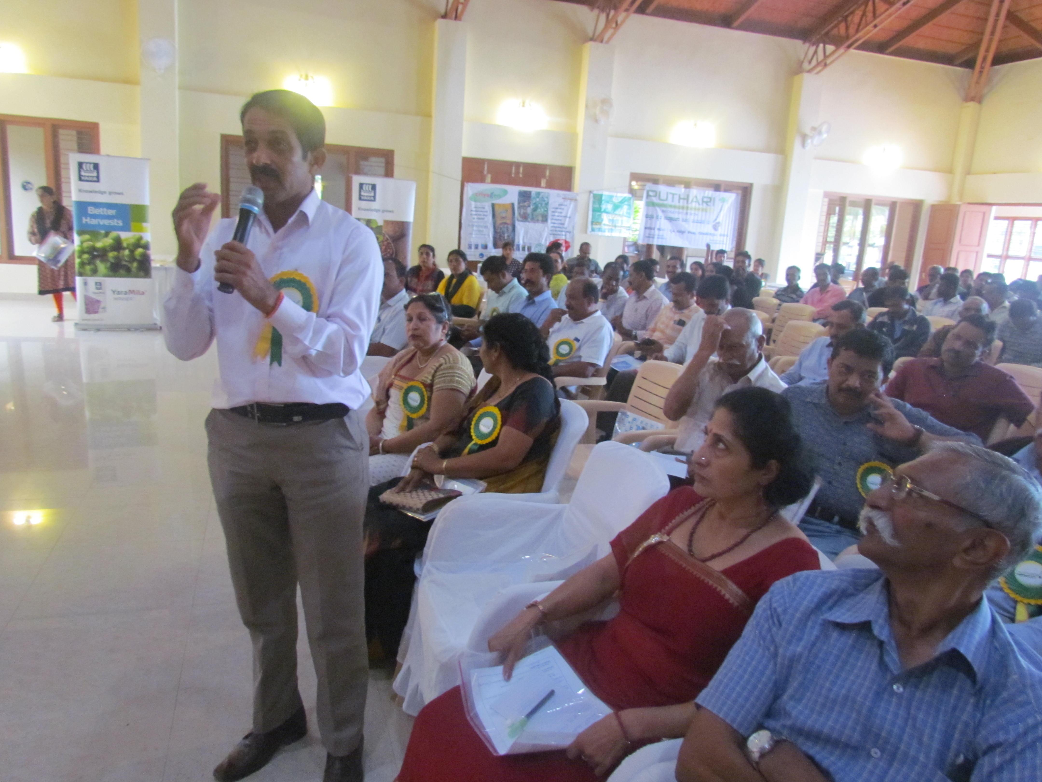 Puthari FPO member in Sankalp Se Sidhi Programme