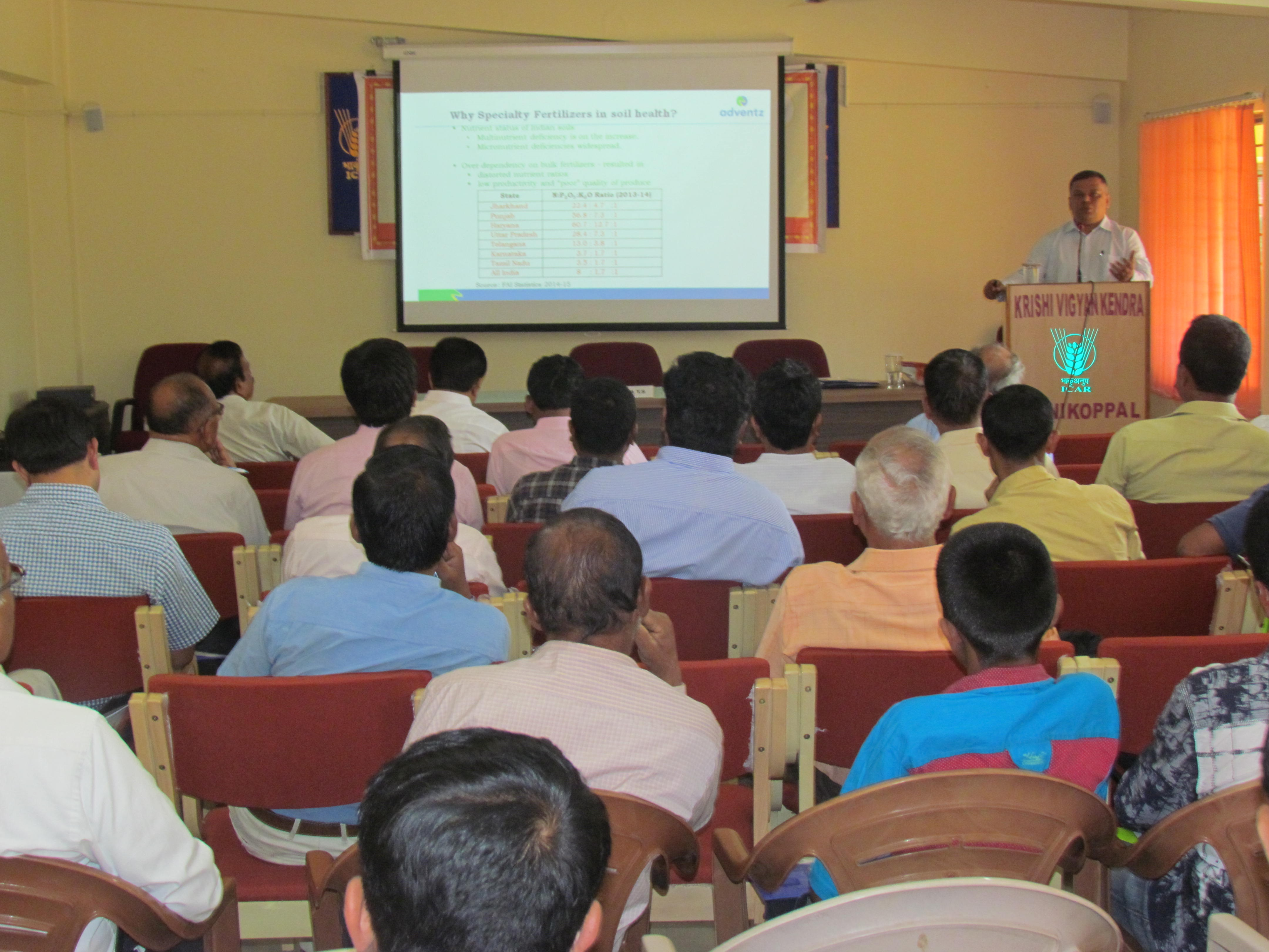 Training programme on Balanced Fertilizer application