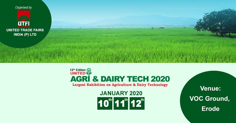 Largest Exhibition on Agriculture & Diary Technology 2020_o
