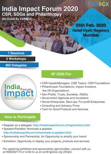 India Impact Forum 2020