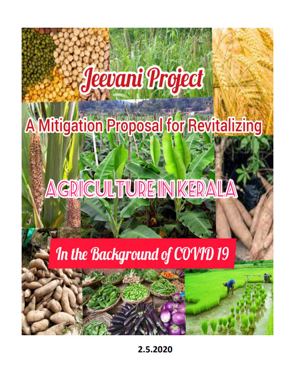Jeevani Project- A Mitigation proposal for Revitalizing Agriculture in Kerala