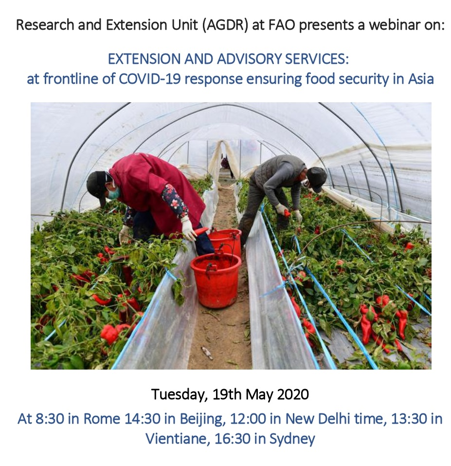 Research and Extension Unit (AGDR) at FAO presents a webinar_page-0001