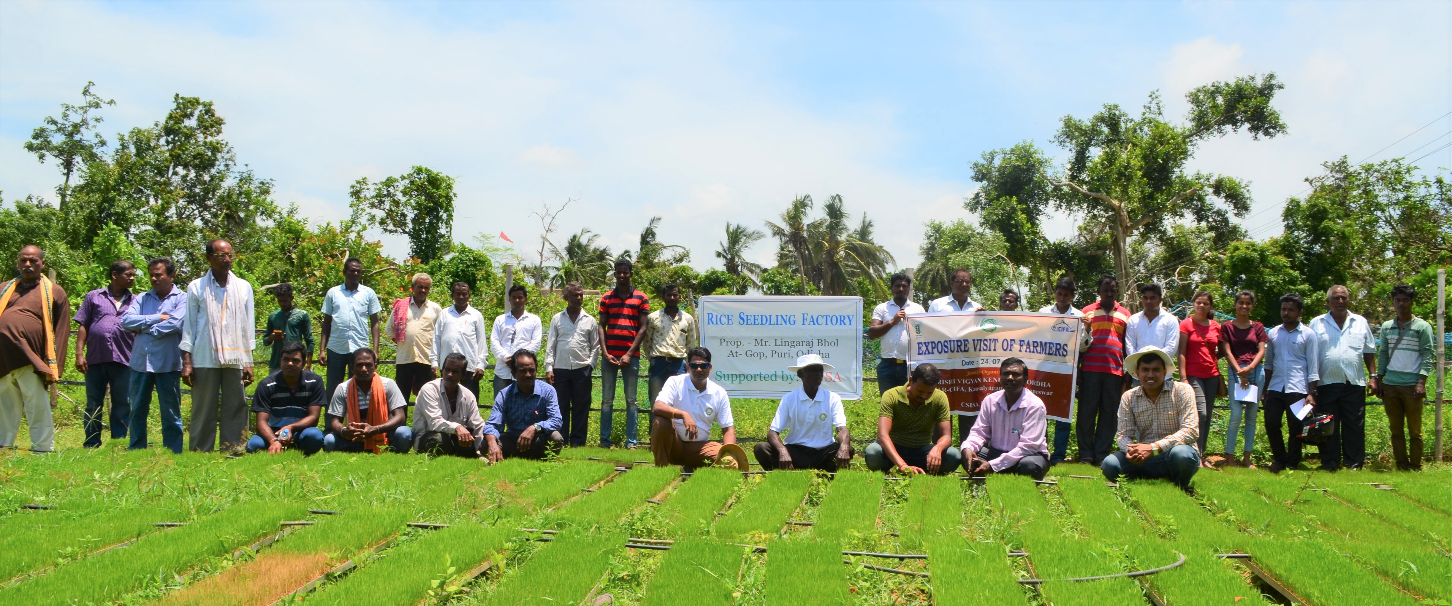 Photo_Exposour_visit_seedling factory