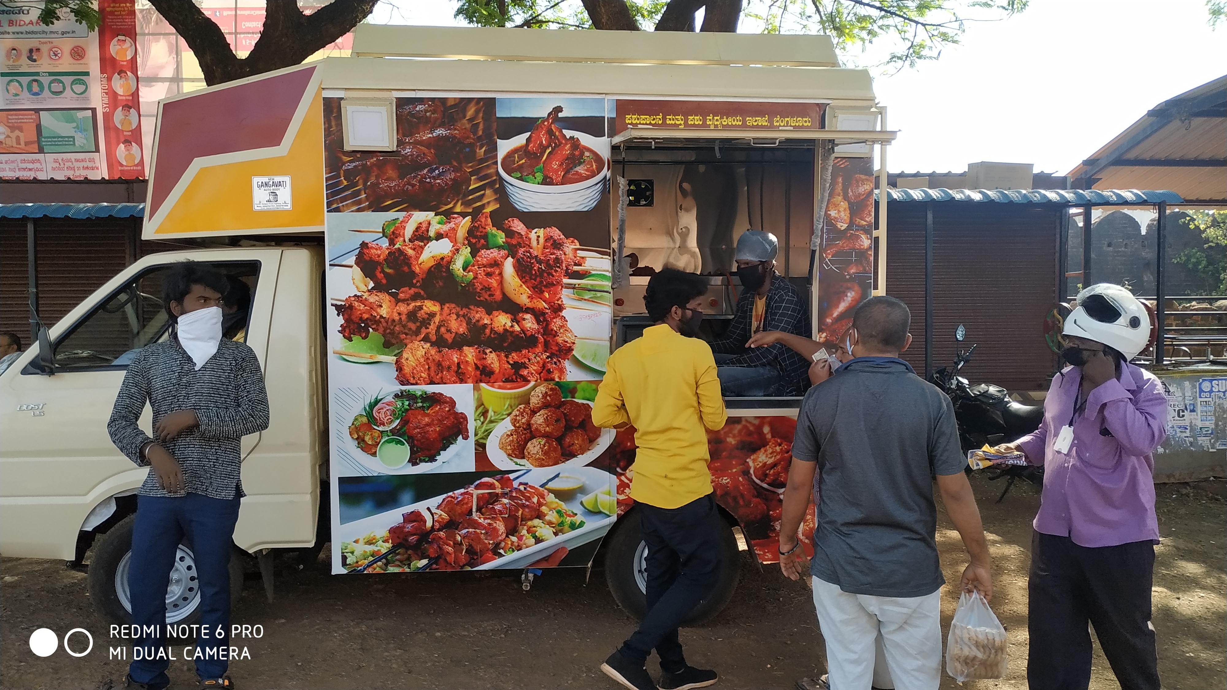 Mobile Meat van