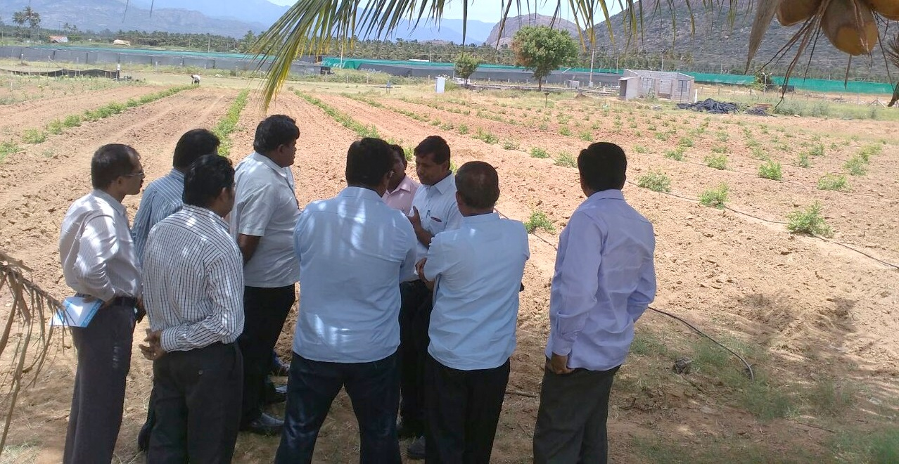 Seeing is Believing- Orchard growers at Jain R&D farm
