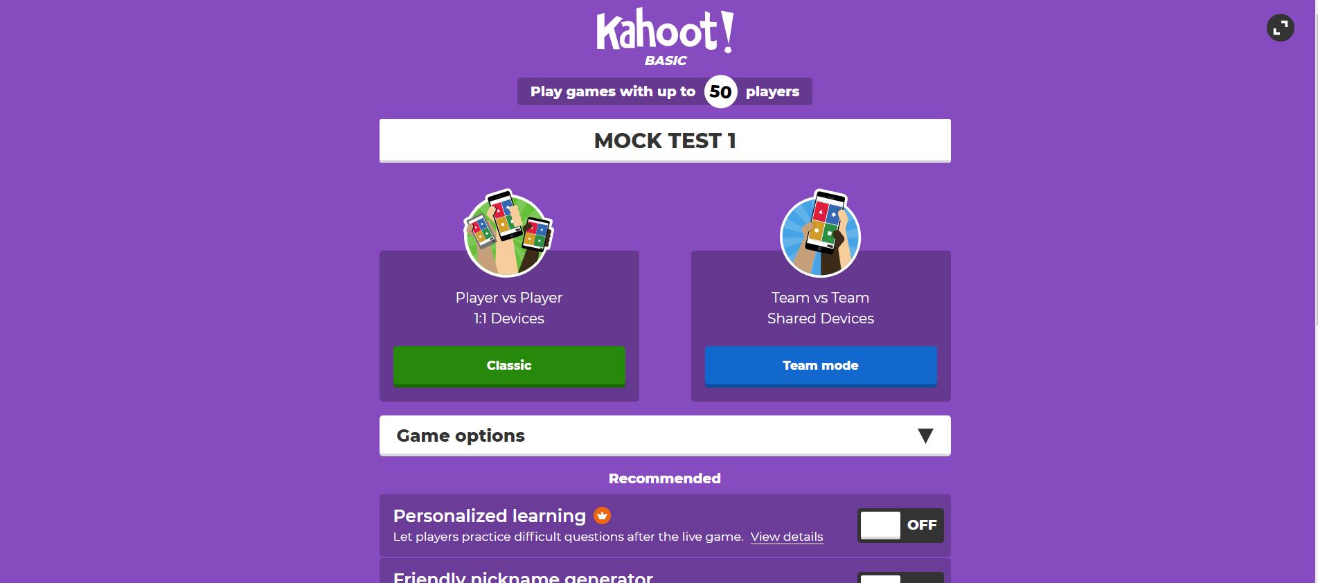 KAHOOT 9