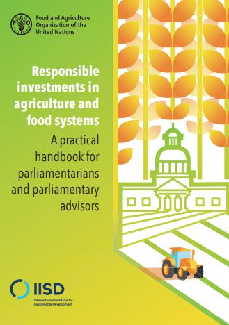 Responsible investments in agriculture and food systems