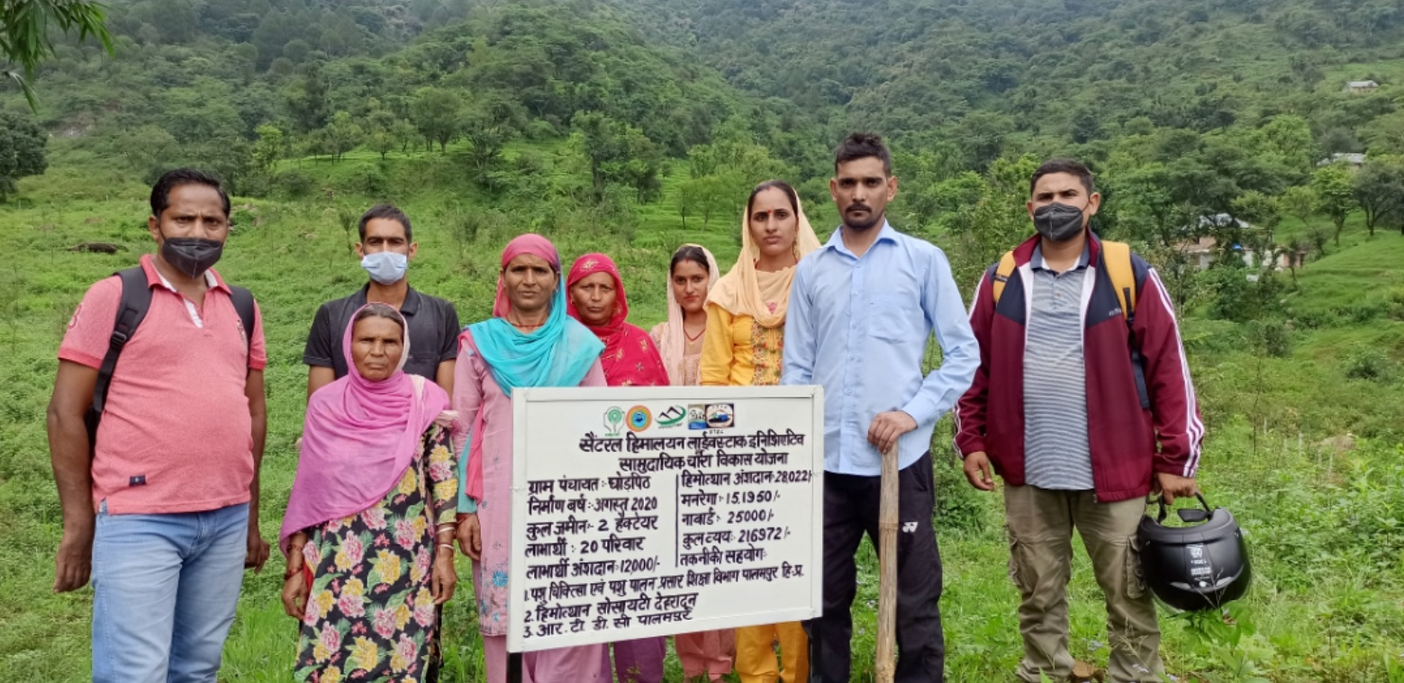 Beneficiaries with Community Fodder Bank