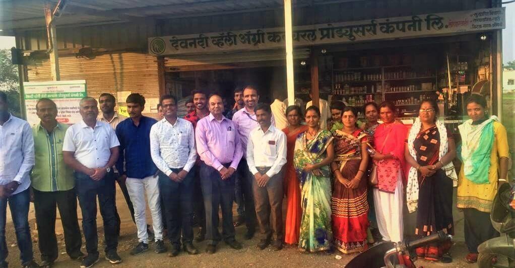 BoDs of FPOs visit to Devnadi Valley Agro FPC_Nashik (1)