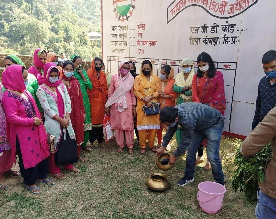 Training Demonstration on Herbal Methods to control common livestock ailments